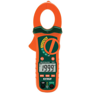 EXTECH MA430T 400A TRUE RMS AC CLAMP METER + NCV