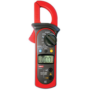 UNI-T UT201 DIGITAL CLAMP METERS 400A; 200MV-600V