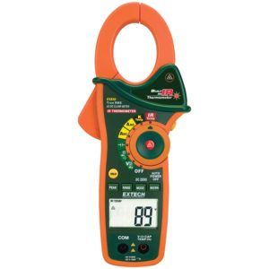 EXTECH EX830 1000A TRUE RMS AC/DC CLAMP METER WITH IR THERMOMETER
