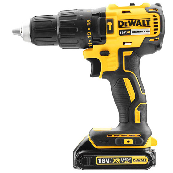 DEWALT DCD778S2 GB 18V 15AH XR LI ION BRUSHLESS COMPACT HAMMER DRILL