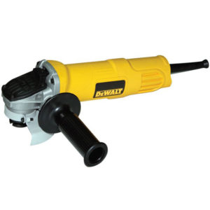 DEWALT DWE4001-B4 100MM SMALL ANGLE GRINDER 800W TOGGLE SWITCH 110V