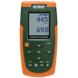 EXTECH AN500 HOT WIRE CFMCMM THERMO-ANEMOMETER