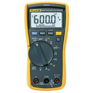 FLUKE 117 TRUE RMS ELECTRICAL MULTIMETER WITH NON-CONTACT VOLTAGE
