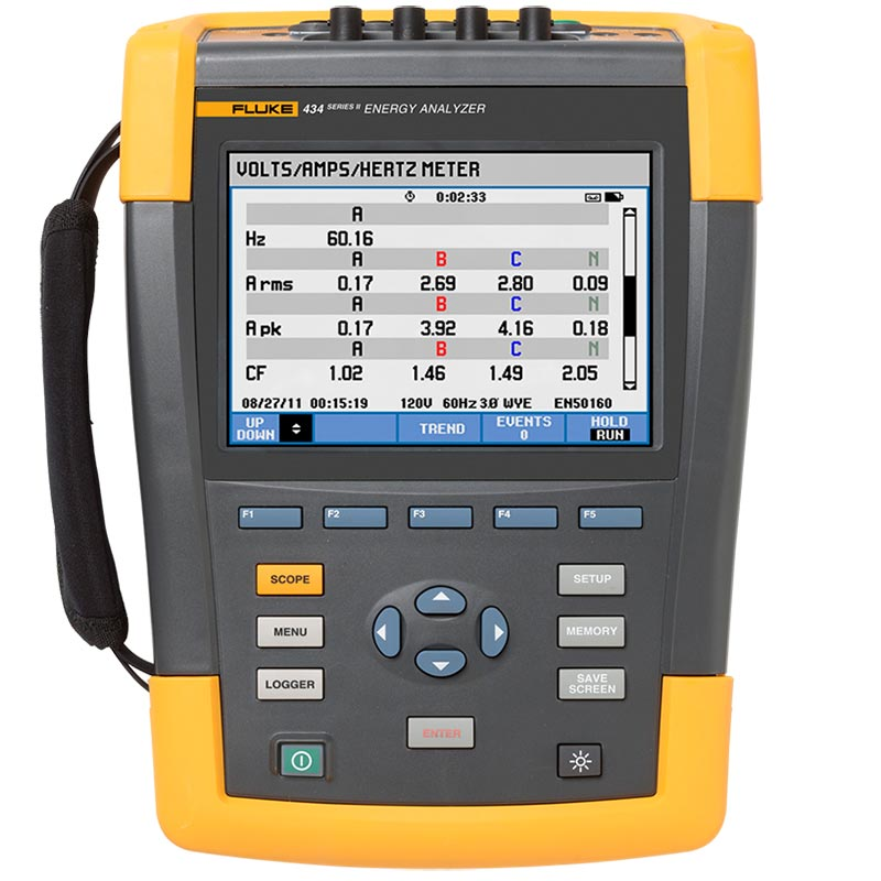 FLUKE 434-II/INTL POWER QUALITY AND ENERGY ANALYZER - ISC Services