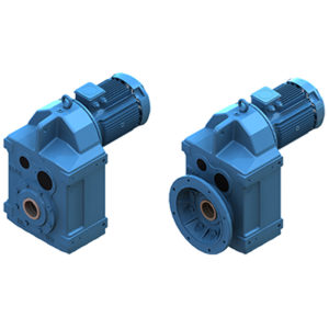 Parallel Shaft Helical Gear Units (YP Series)